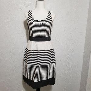 Banana Republic striped summer dress with pockets